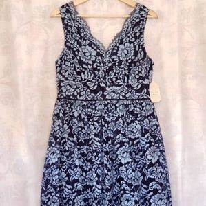 Altar'd State Lace Scalloped Party Dress Size L
